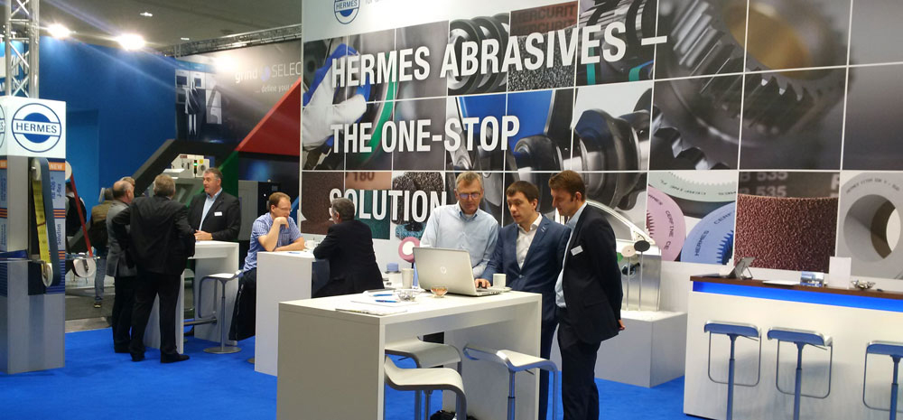 Hermes Messestand EMO 2017